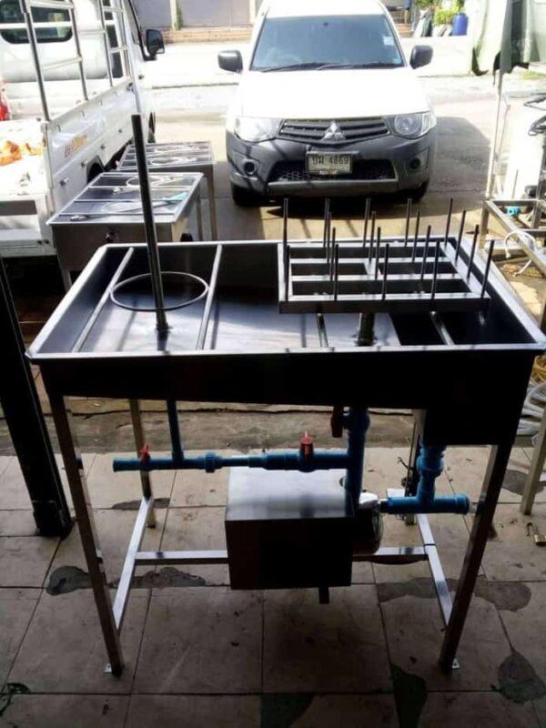 เครื่องล้างขวด + ล้างถัง