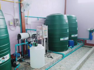 รับติดตั้งโรงงานผลิตน้ำดื่ม.